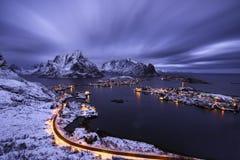 Reine, Norwegia Fotografia Royalty Free