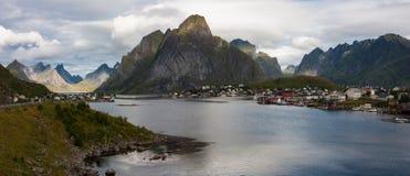 Reine panorama Stock Photo