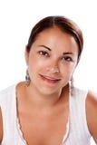 Reine schöne Hautfrau Lizenzfreie Stockbilder