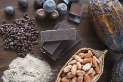 Reine Schokolade Lizenzfreies Stockbild