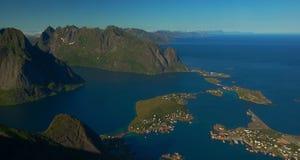 Reine su Lofoten immagini stock