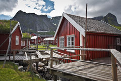 Reine summertime Stock Photography