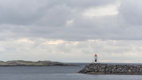 Reine, vila no timelapse das ilhas de Lofoten filme
