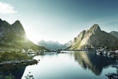 Reine Village, Lofoten Islands Stock Photography
