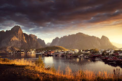 Reine Village, Lofoten Islands, Norway Royalty Free Stock Photography
