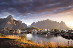 Reine Village, Lofoten Islands, Norway Royalty Free Stock Image