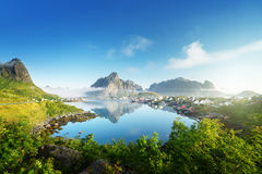 Reine Village, Lofoten Islands, Norway Stock Photos