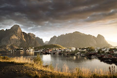 Reine Village, Lofoten Islands, Norway Stock Photography