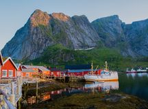 Reine village, Norway Royalty Free Stock Photography
