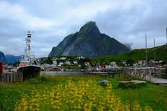 Reine village, Norway Royalty Free Stock Image