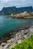 Reine village, Norway Stock Images