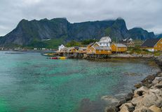 Reine village, Norway Stock Photo
