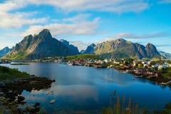 Reine village, Norway Royalty Free Stock Photo