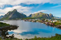 Reine village, Norway Stock Photography