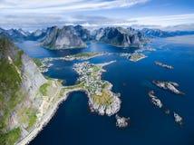 Reine w Norwegia zdjęcia stock