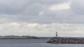 Reine, wioska na Lofoten wysp timelapse zbiory