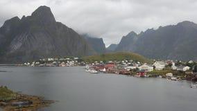 Reine wioska rybacka fotografia stock