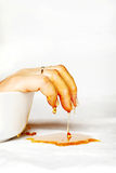 Reiner Honig lizenzfreie stockfotos