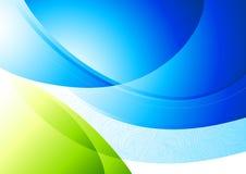 Reiner Kurven-Hintergrund Stockfotografie