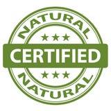 Reiner natürlicher Stempel Lizenzfreies Stockbild