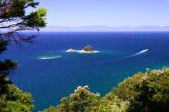Reiner Ozean Abel Tasman lizenzfreie stockfotografie