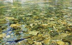 Reines Flusswasser Lizenzfreie Stockbilder