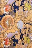 Reines silk Gewebe stockbild