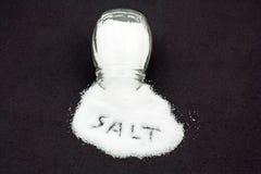 Reines Tabellen-Salz Stockfotos