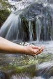 Reines Wasser Stockfotos
