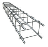 Reinforce iron rack Royalty Free Stock Image