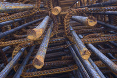 Reinforce steel iron rod Royalty Free Stock Photography