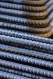 reinforce steel iron rod Stock Image