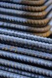 Reinforce steel iron rod Stock Image