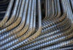 Reinforce steel iron rod Stock Photos