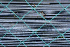 Reinforce steel iron rod Stock Photos