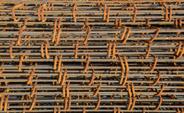 Reinforce steel iron rod Royalty Free Stock Photos