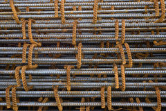 Reinforce steel iron rod Royalty Free Stock Image