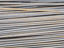 Reinforce steel rod texture Stock Image