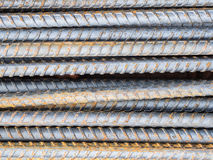 Reinforce steel rod texture. Background stock photography