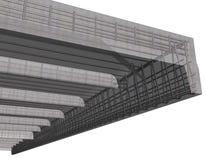 Reinforced concrete stock illustration