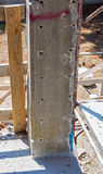 Reinforced concrete column Stock Photos