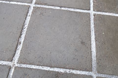 Reinforced concrete paving slabs Stock Image