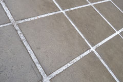 Reinforced concrete paving slabs Royalty Free Stock Photography