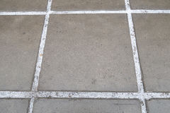 Reinforced concrete paving slabs Stock Images