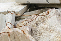 Reinforced Concrete Slabs Stock Images