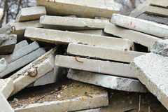 Reinforced Concrete Slabs Stock Photos