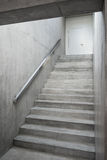 Reinforced concrete stairway inside the building Royalty Free Stock Image