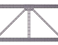 Reinforced concrete structure Stock Photo