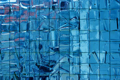 Reinforced mosaic glass Stock Images