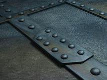 Reinforced steel 3D Royalty Free Stock Image
